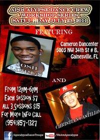 Featured choreographers