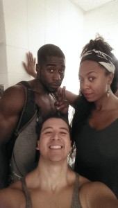 Me with my buddy Shamar and T Lang